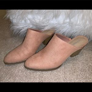 Old Navy Mauve Booties